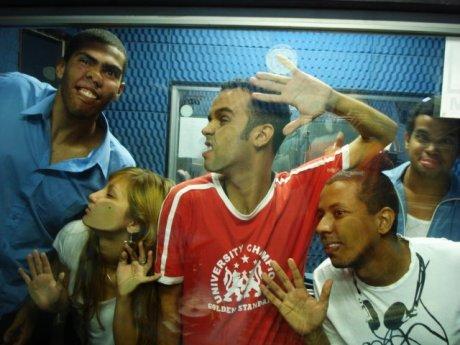 De cara para o estúdio (2007/2008)