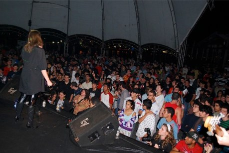 LePuff e o grande público no IlhAcústico